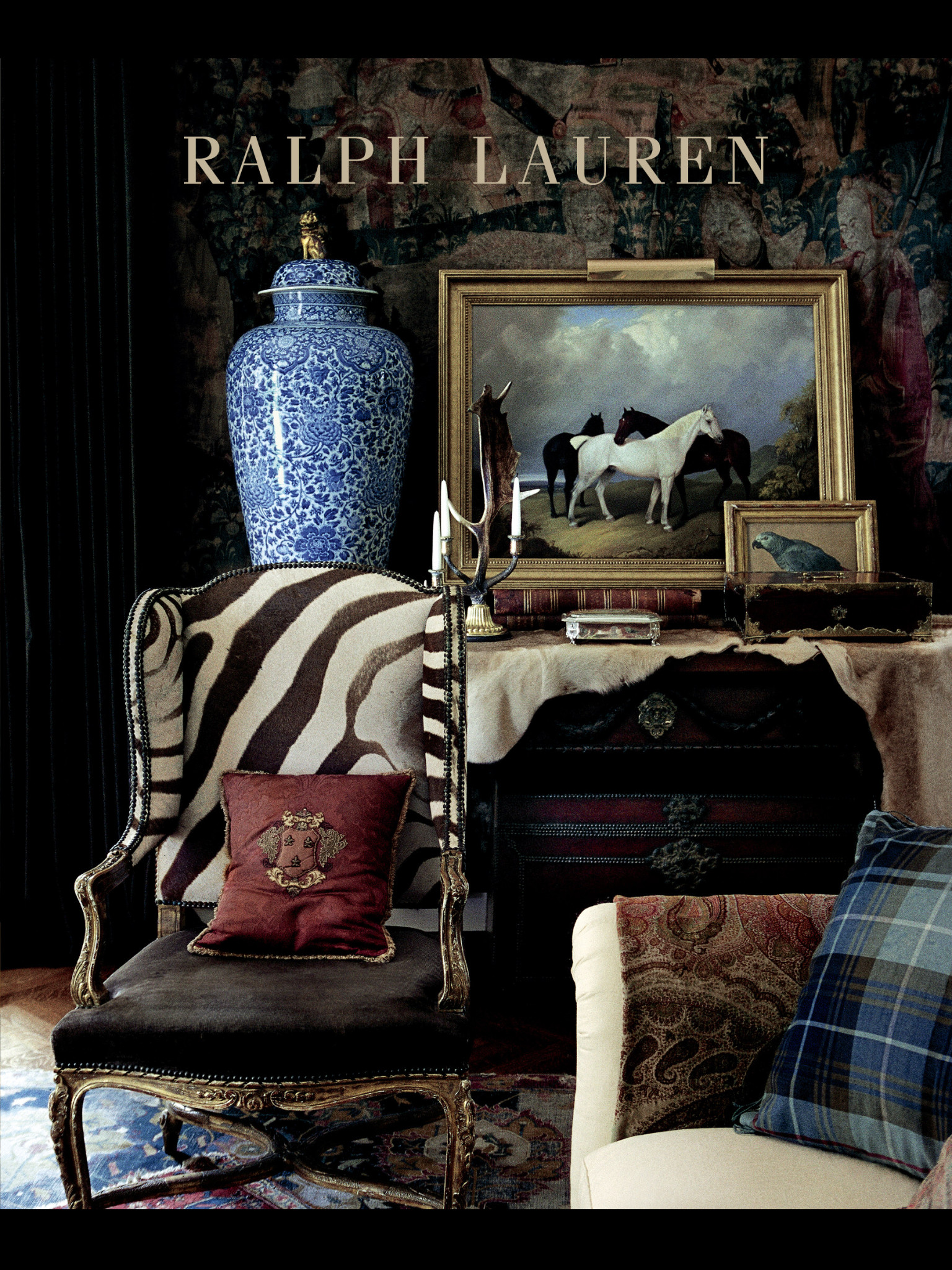 Ralph Lauren Interiors Need I Say More